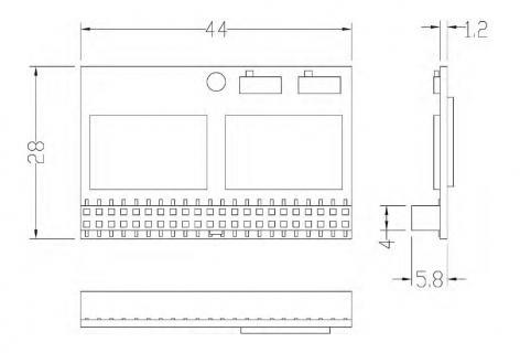 DOM PATA/CIE-4LS130TFT001GS  3