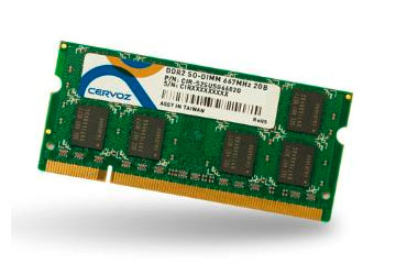 SO-DIMM DDR2 1GB/CIR-S2SUSG6601G