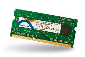 SO-DIMM DDR3 4GB/CIR-W3SUIK1604G