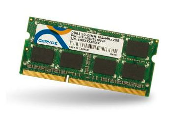 SO-DIMM DDR3L 2GB/CIR-S3SUSO1302G
